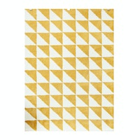 Vision Pop Triangle 180 x 270 cm Mustard