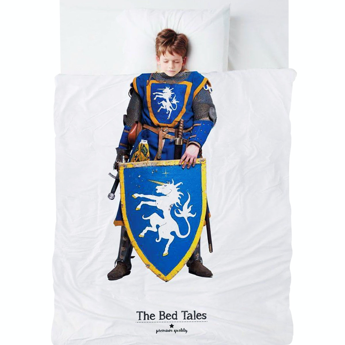 The Bed Tales Bed Cover Knight (200cm x 135cm)