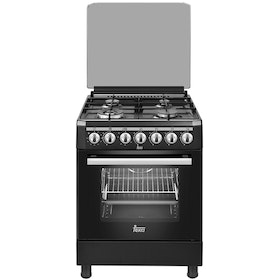 TEKA Freestanding Cooker Black 4 Burner 60cm
