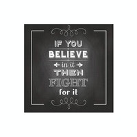 Tees If You Believe 30X30Cm (Poster)