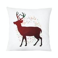 Tees Christmas Comes 40X40Cm (Insert+Cushion Cover 40X40Cm)