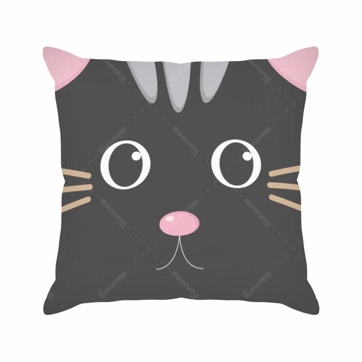 Tees Black Cat (Insert+Cushion Cover 40X40Cm)