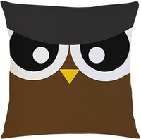 Tees Burung Hantu (Insert+Cushion Cover 40X40Cm)