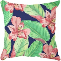 Tees Tropical Leaves (Insert+Cusion Cover 40X40cm)