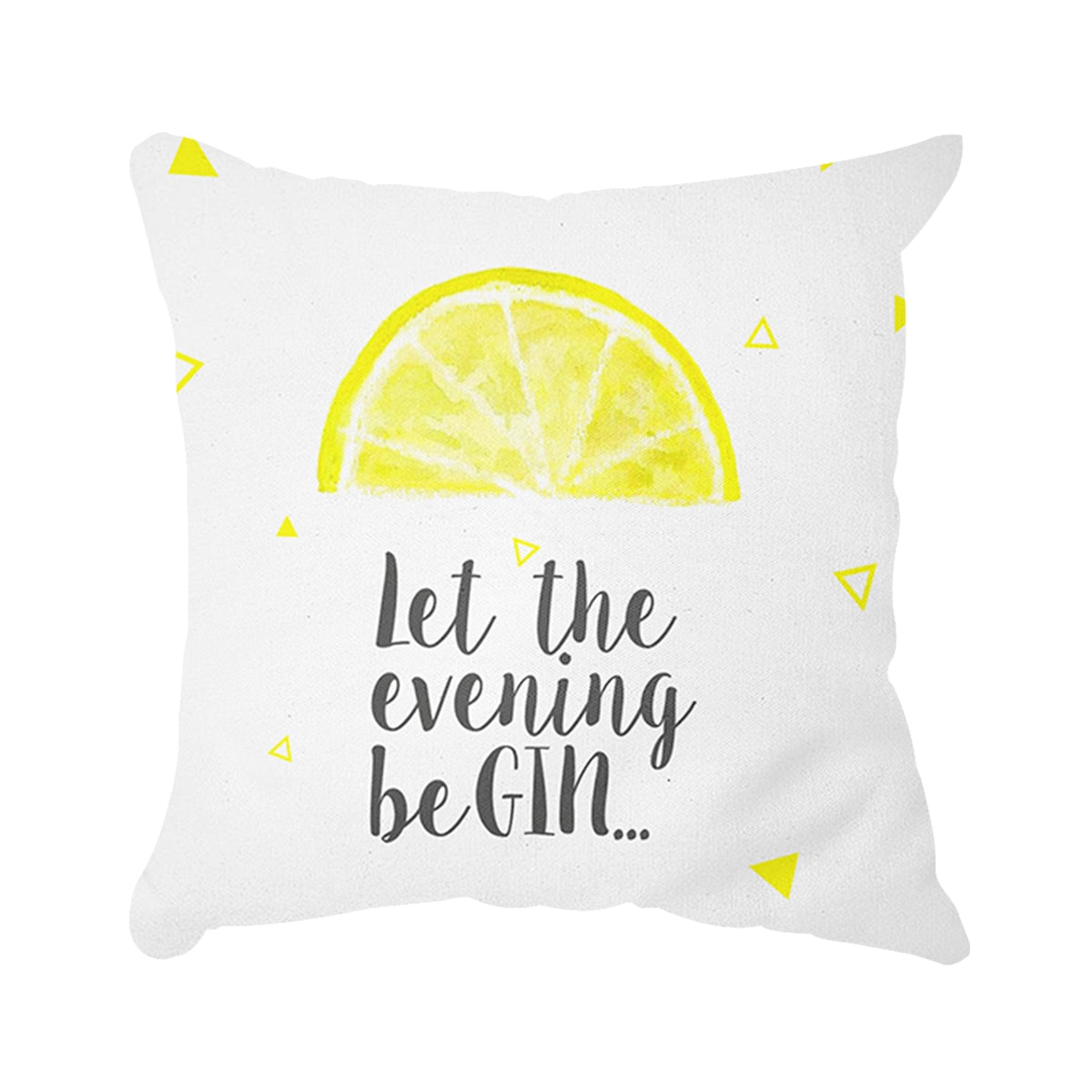 Tees.co.id Lemon Cushion (Insert+Cusion Cover 40X40cm)