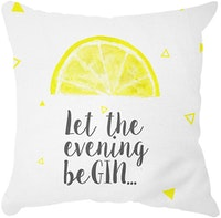 Tees Lemon Cushion (Insert+Cusion Cover 40X40cm)