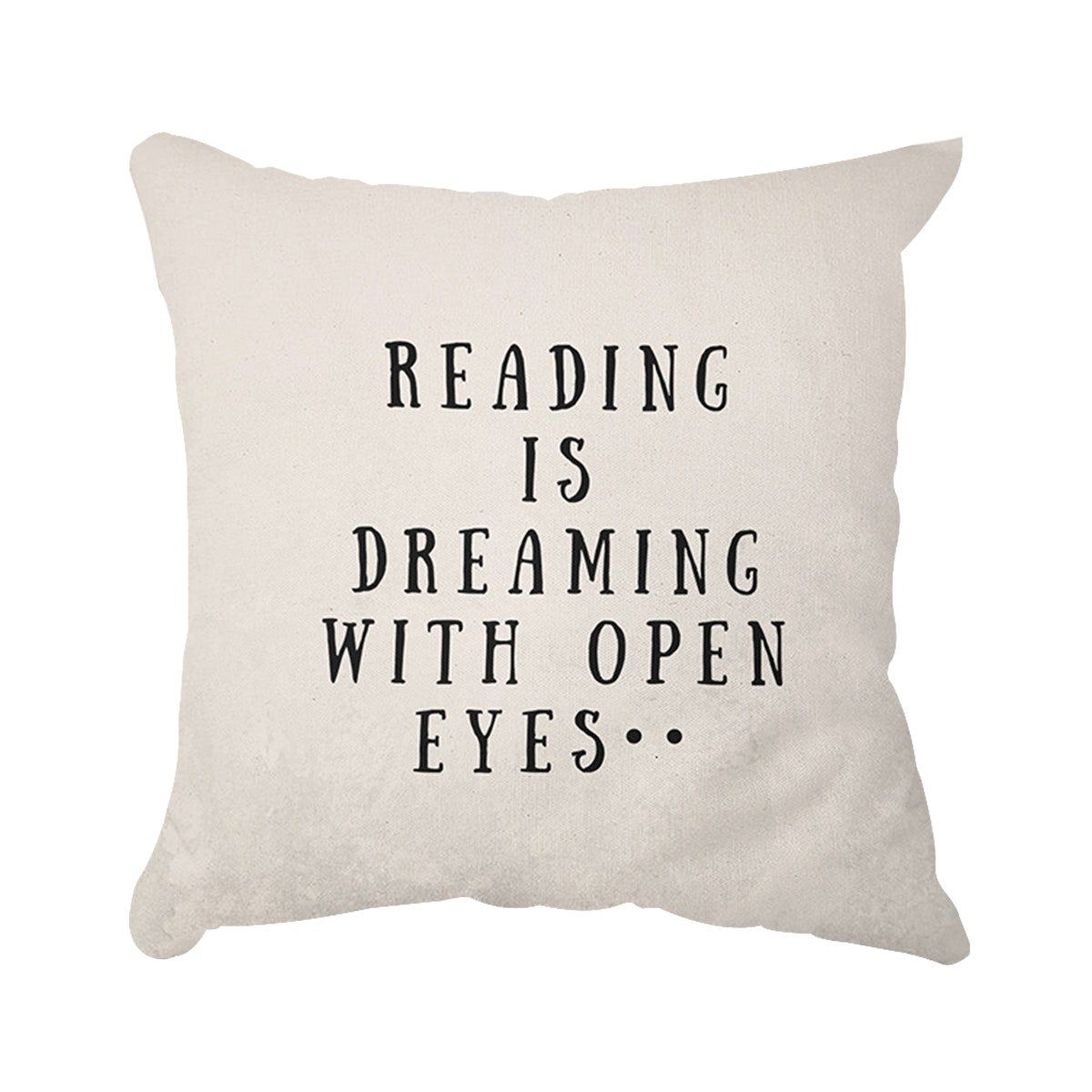 Tees.co.id Bantal: Reading Is Dreaming (Insert+Cusion Cover 40X40cm)