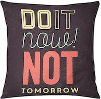 Tees Do It Now (Insert+Cushion Cover 40X40Cm)