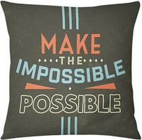 Tees Possible (Insert+Cushion Cover 40X40Cm)