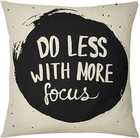 Tees More Focus (Insert+Cushion Cover 40X40Cm)