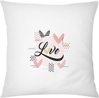 Tees Love (Cinta) (Insert+Cushion Cover 40X40Cm)