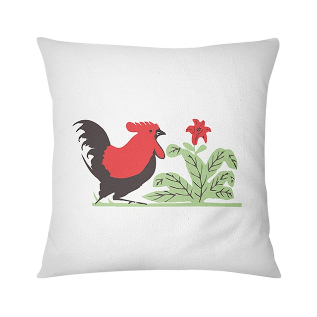 Tees Cushion Motif Bantal Ayam