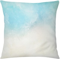 Tees Cushion Motif Watercolor Pillow