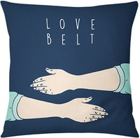 Tees Cushion Motif Love Belt