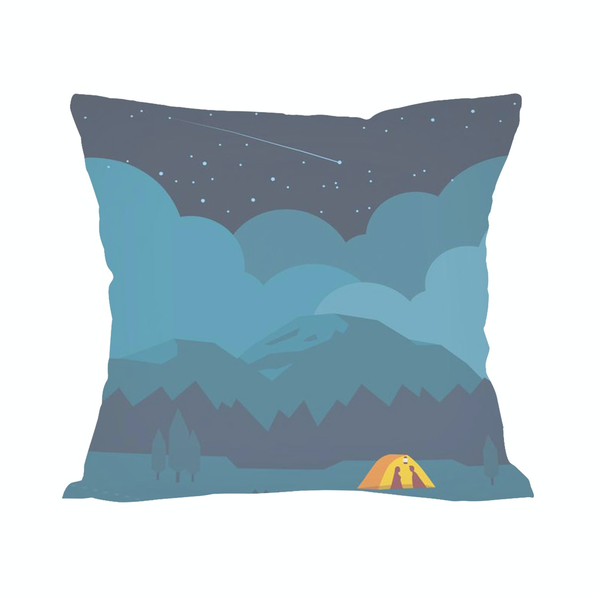 Tees On The Night Like This (Insert+Cushion Cover 40X40Cm)