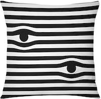 Tees Cushion Motif Horizontal Eyes