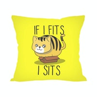 Tees Cat Sit (Insert+Cushion Cover 40X40Cm)