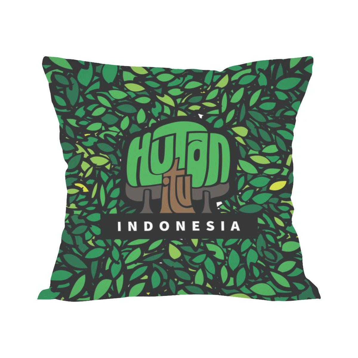 Tees Dedaunan (Insert+Cushion Cover 40X40Cm)