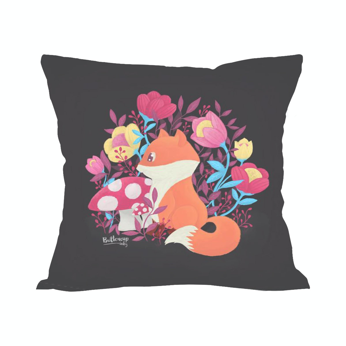 Tees Little Foxy (Insert+Cushion Cover 40X40Cm)