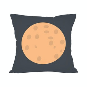 Tees Moon Creativestoreid (Insert+Cushion Cover 40X40Cm)
