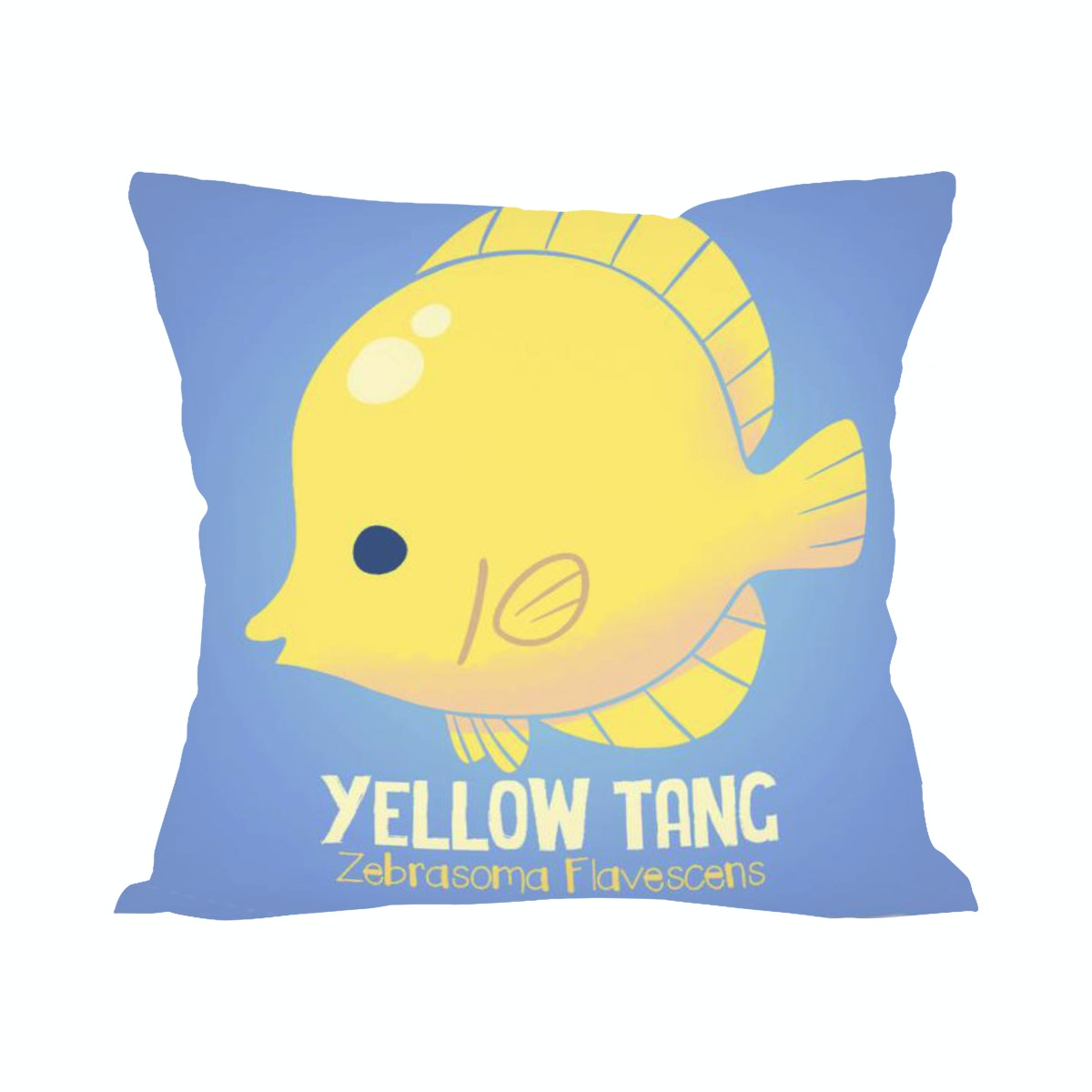 Tees Yellow Tang (Insert+Cushion Cover 40X40Cm)