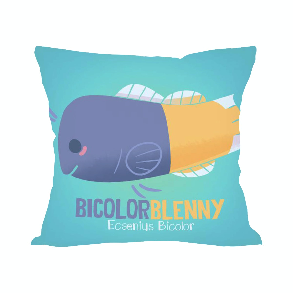 Tees Bicolor Blenny (Insert+Cushion Cover 40X40Cm)