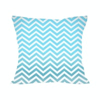 Tees Glittery Blue Chevron
