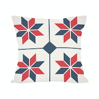 Tees Art Deco 1 (Insert+Cushion Cover 40X40Cm)