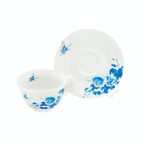 Tafel21 Cangkir Set Blue Butterfly 12 pcs/Set