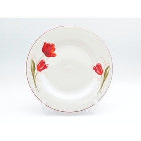 Tafel21 Dinner Set Red Tulip 22 pcs/set