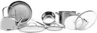 Weston Panci Set Chef Collection Weston 8 pcs/set