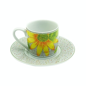 Tafel21 Espresso Sun Flower 12 pcs/set
