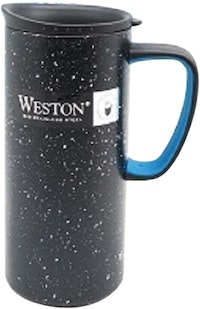 Weston Termos Mug Gloria Hitam Biru 500ml