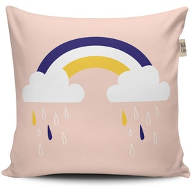 The Happy Camper Big Rainy Clouds Cushion Cover 40x40cm