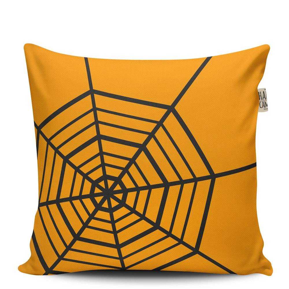 The Happy Camper Spiderweb - Cushion 40X40Cm