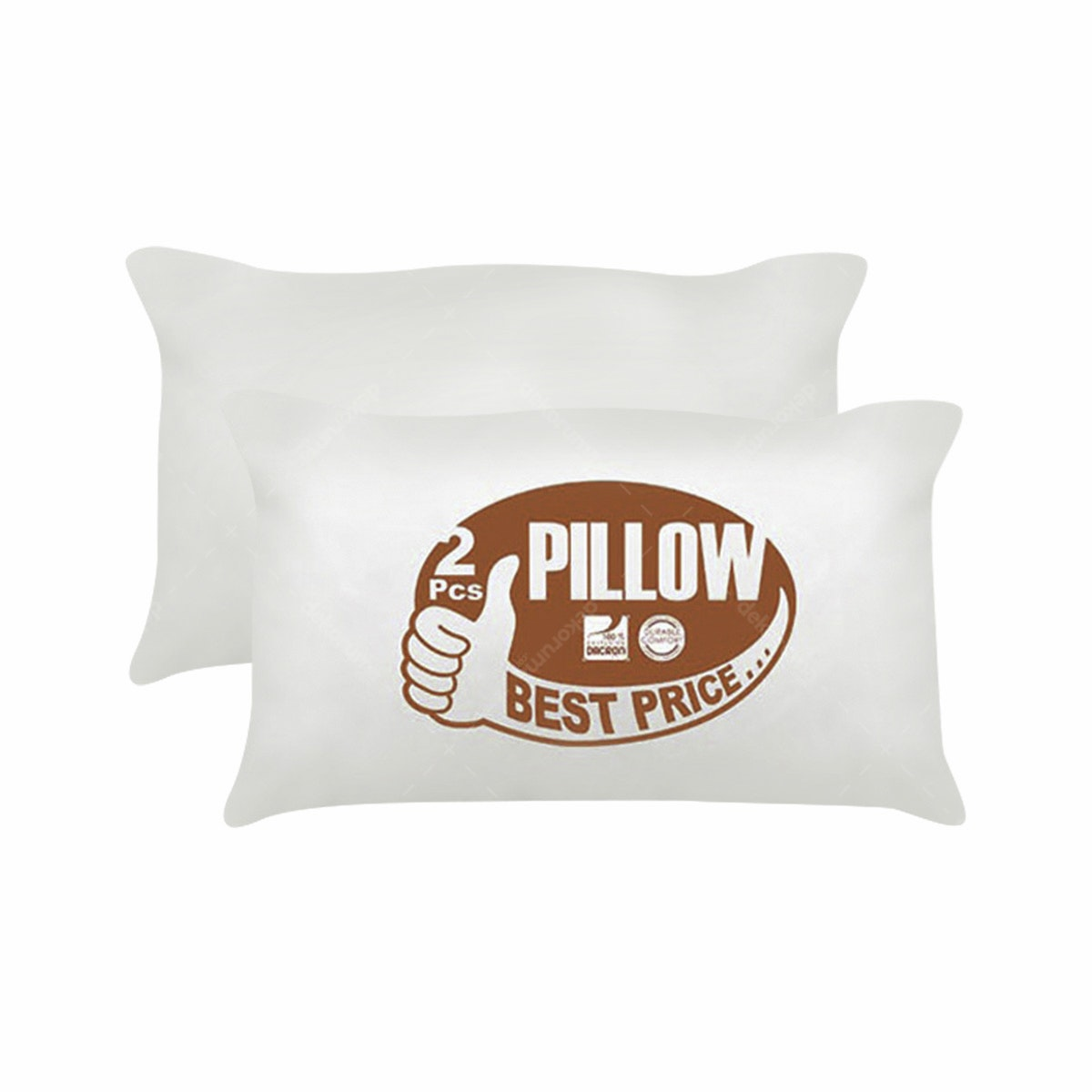 The Luxe The  Luxe Pillow Best Price 2pcs
