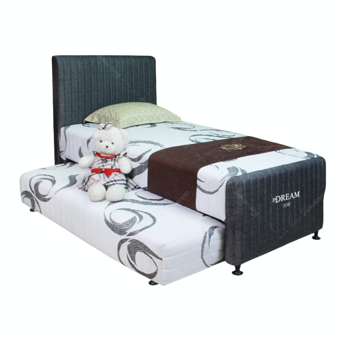 The Luxe Fullset Kasur 2in1 Dream Uk 120x200