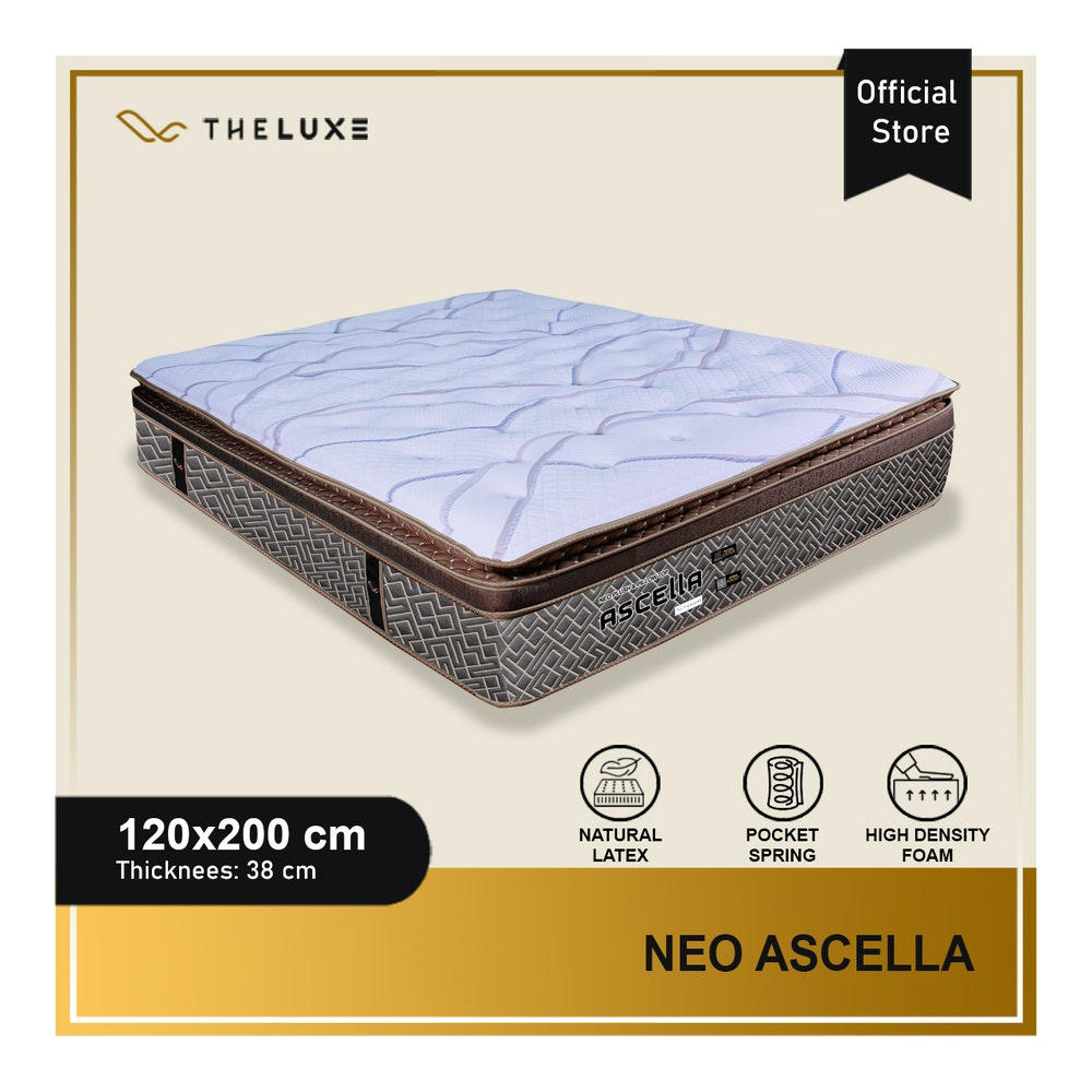 The Luxe Kasur Ascella Uk 120x200