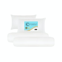 The Luxe Paket Bantal & Guling Reveire Compact 2 Pillow & 2 Bolster