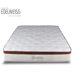 The Luxe Springbed The Luxe Matrress Edelweiss Pillow Top 200x200cm Khusus JABODETABEK