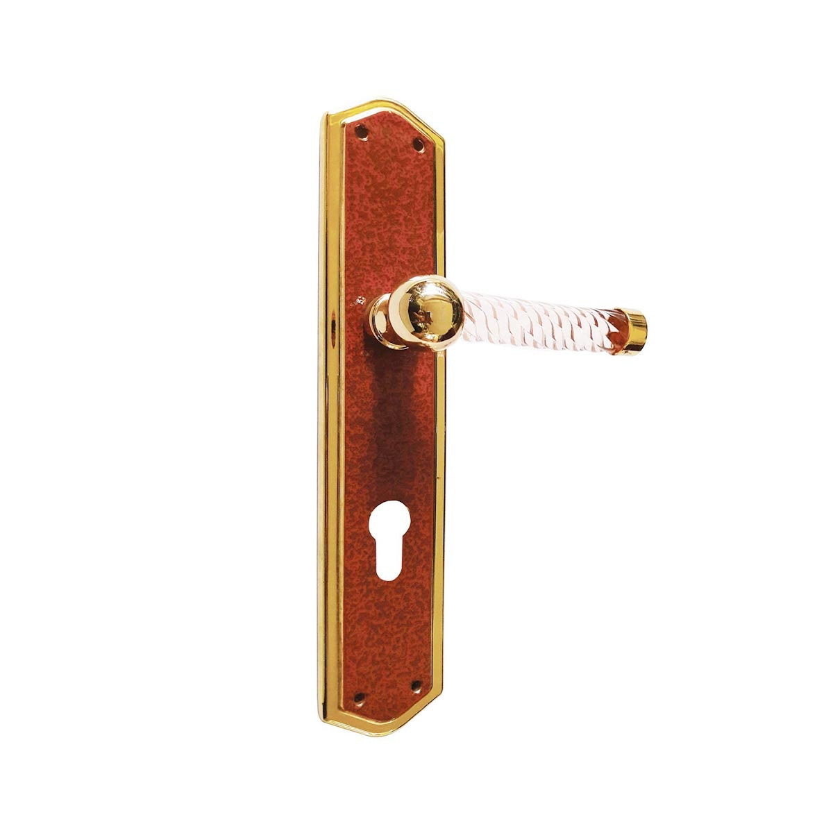 Bronces Bari Handle Pintu Plat 975 RedP