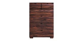 Kana Furniture Chest Drawer Frankfurt Chocolate