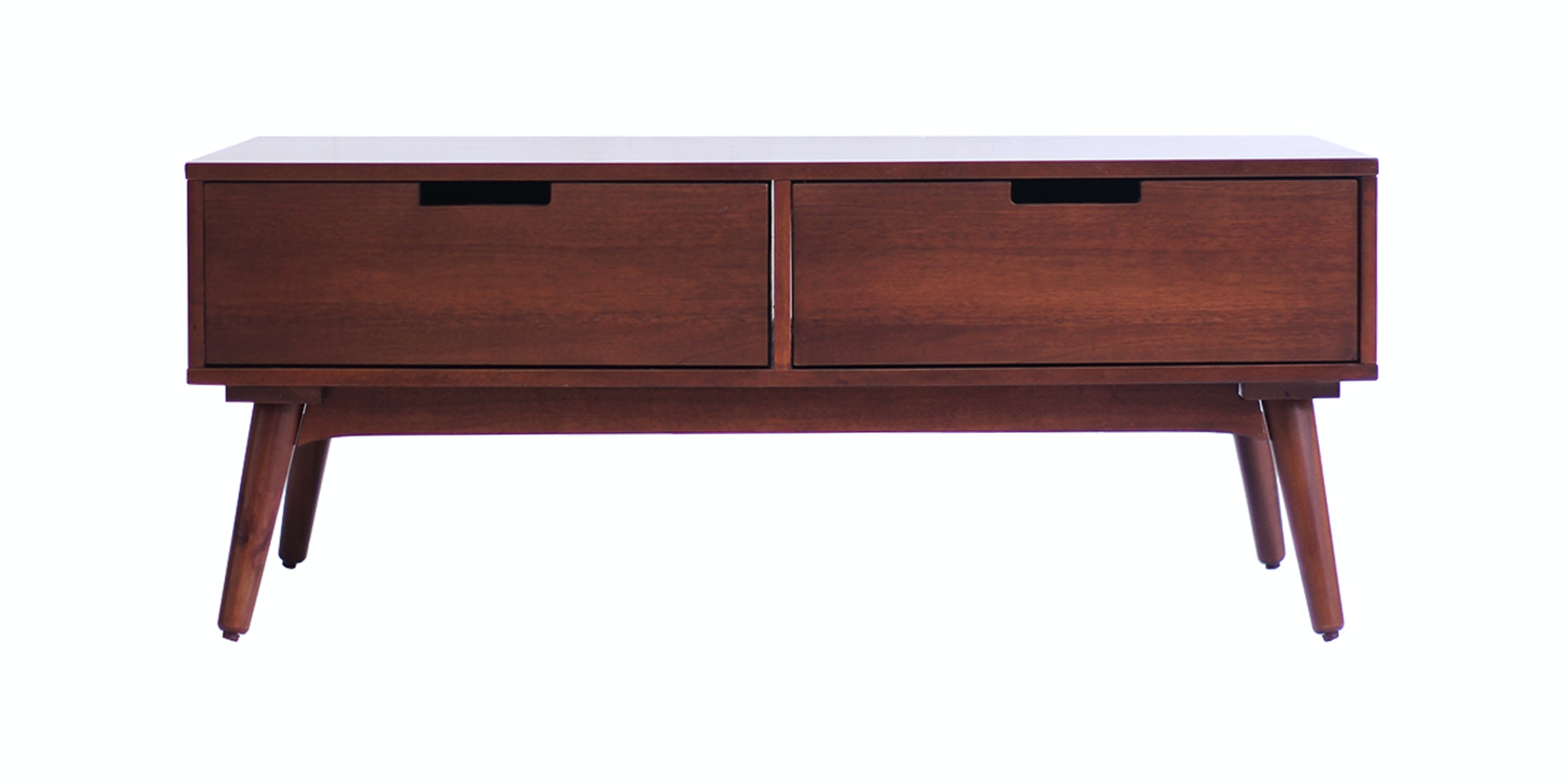 KANA FURNITURE Ct Rondane With Drawer Skandi Walnut Integ