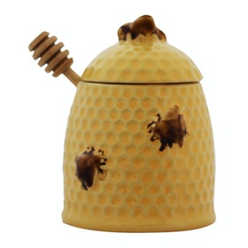 Kana Furniture Honey Jar Bee Skep Dipper