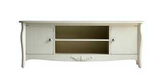 KANA FURNITURE Tv Stand Perth White