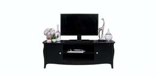 KANA FURNITURE Tv Stand Perth Black