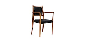 Kana Furniture Dining Chair Armed Rosy