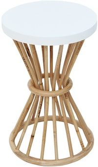 Kana Furniture Accent Table Opalhouse Rattan Brown