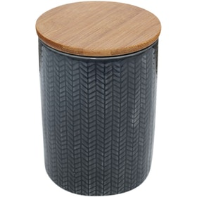 Kana Furniture Vase Ceramic Medium D10x15 Dark Grey