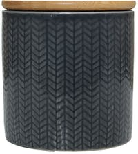 Kana Furniture Vase Ceramic Small D10x11 Dark Grey